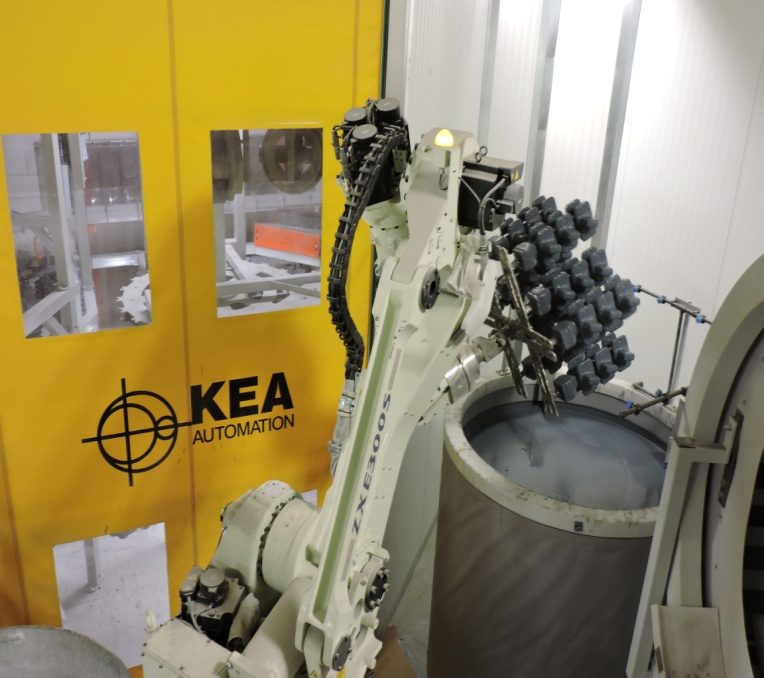 KEA slurry tank 2